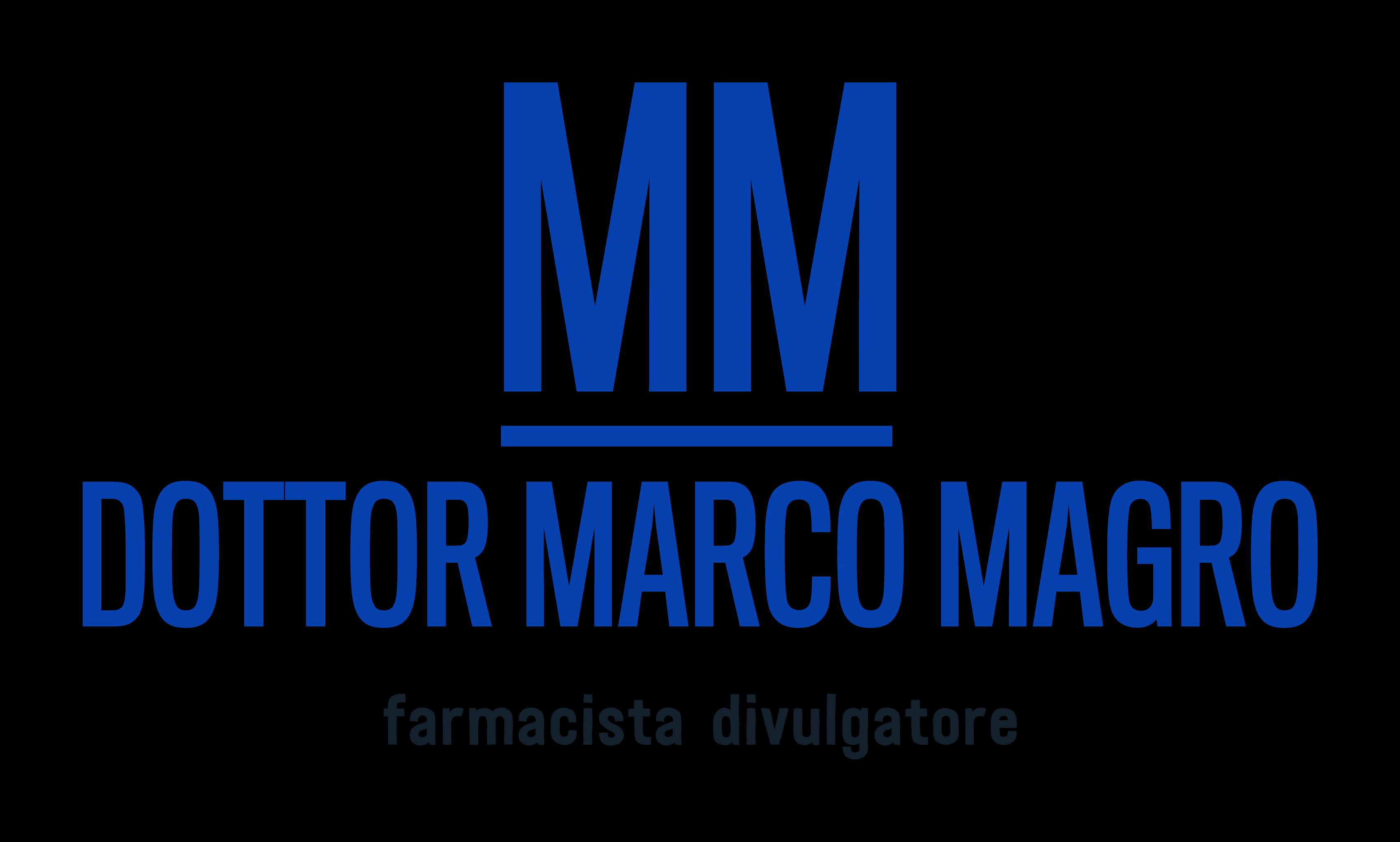 Logo Marco Magro - Farmacista divulgatore